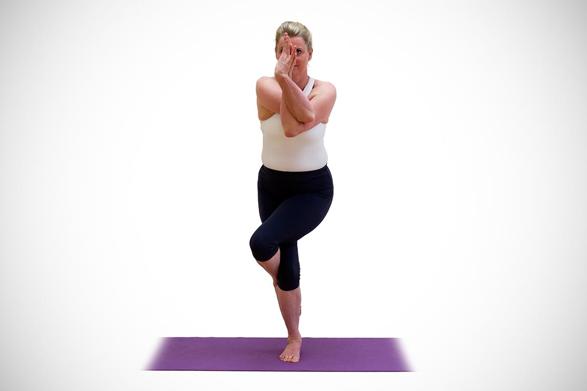 Garudasana - My Yoga Tutor